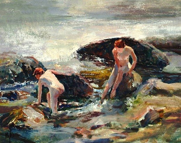 Figures in the Surf